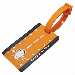 Silicone Luggage Tag - Enjoy your Trip