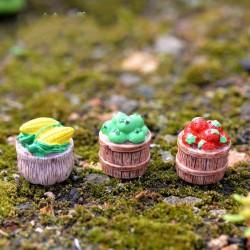 Miniatures - Basket of Fruits