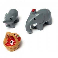 Miniatures - Elephants (3 pcs)