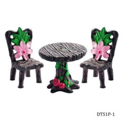 Miniatures - Garden Table and Chair Set (DTS1P-1)