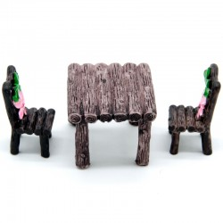 Miniatures - Garden Table and Chair Set (DTS1P-2)