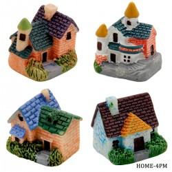 Miniatures - Houses (4 pcs)