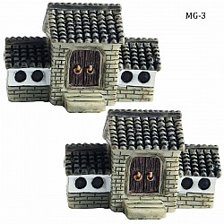 Miniatures - Houses with Window (2 pcs) (MG-3)