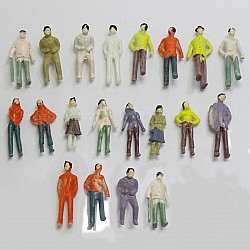Miniatures - People (XCR-1.75) - 20 people