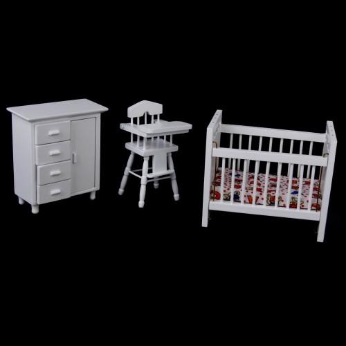 Miniatures - Baby Room Furniture (Set of 3)