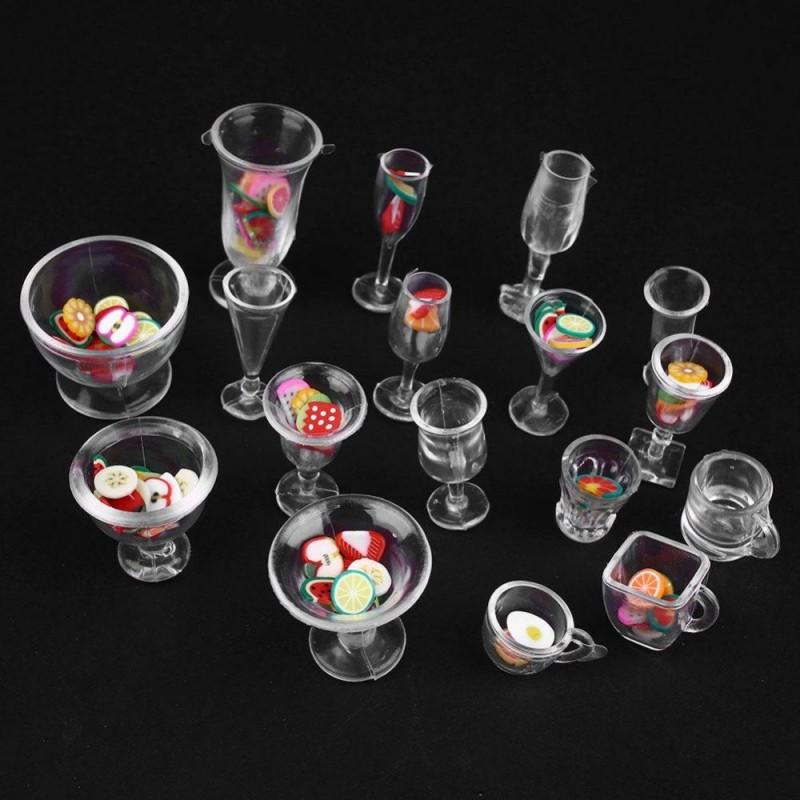 Buy Miniatures Kitchenware Utensils Jars Set Online In