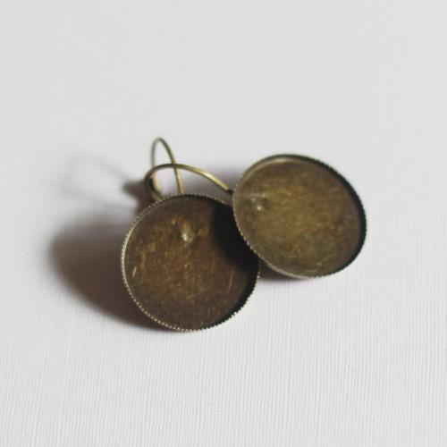 Earrings Blanks - 1 pair