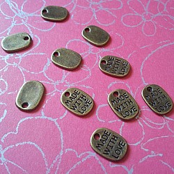 Made with Love tags (Small) - pack of 10
