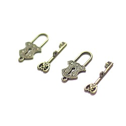 Lock and Key (Pack of 2 pairs)