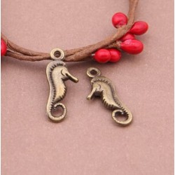 Sea Horse Metal Charms (Set of 5 pcs)