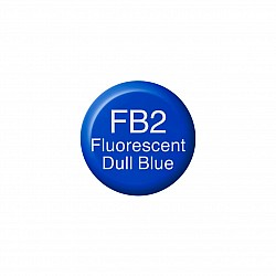 Copic Various Inks Refill - Fluorescent Dull Blue (FB2)