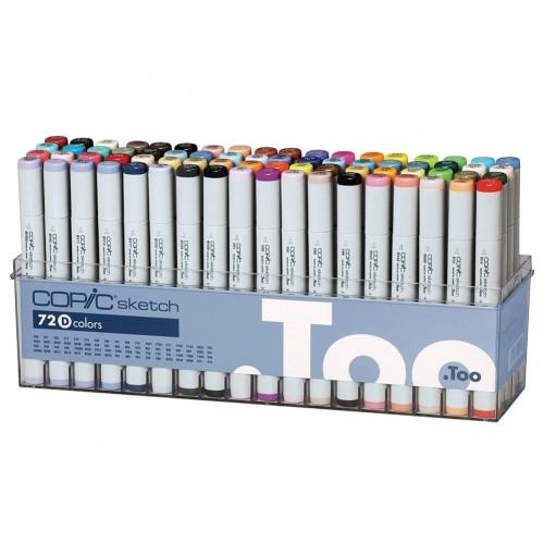 Copic Sketch Markers 72pc Set D