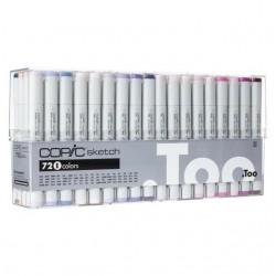 Copic Sketch Markers 72pc Set E