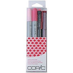 Copic Marker Doodle Pack, Pink