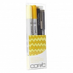Copic Marker Doodle Pack, Yellow
