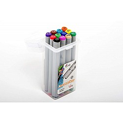 Hakims Alcohol Markers Set of 12