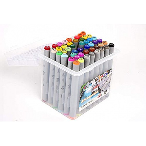 Hakims Alcohol Markers Set of 48
