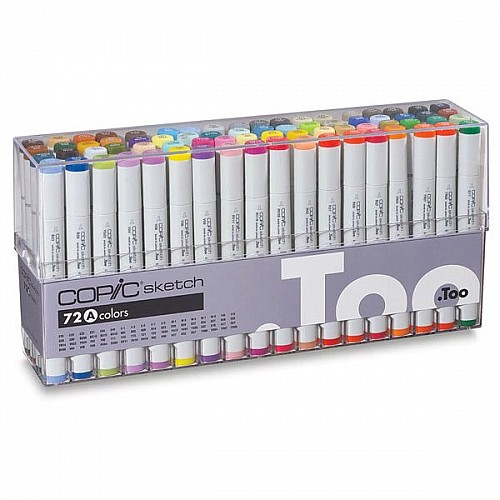 Copic Sketch Markers 72pc Set A