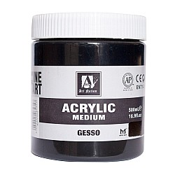 Art Nation Acrylic Gesso Black (500 ml)