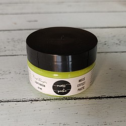 CrafTangles Moss Effect Texture Paste - Light Green (60 ml)