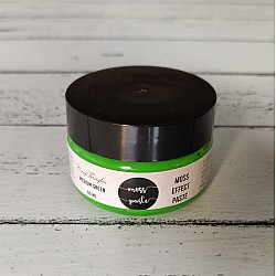 CrafTangles Moss Effect Texture Paste - Medium Green (60 ml)