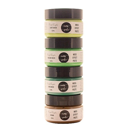 CrafTangles Moss Effect Texture Paste (Set of 4)