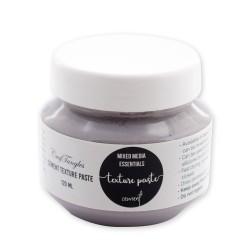CrafTangles mixed media essentials - Texture Paste - Cement (120 ml)
