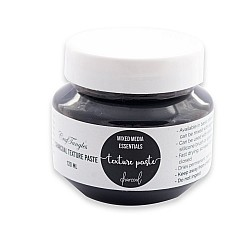 CrafTangles mixed media essentials - Texture Paste - Black (Charcoal) (120 ml)