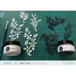 CrafTangles Glimmer Paste - Steel Grey