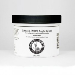 Daniel Smith Acrylic Gesso, Titanium White - 32 oz