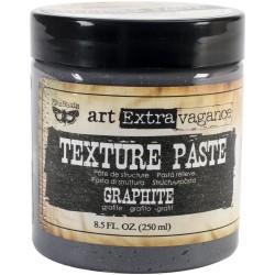 Prima Finnabair Art Extravagance Texture Paste - Graphite (8.5 oz)