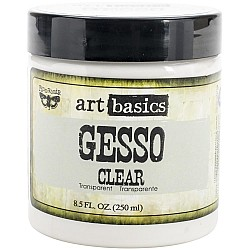 Finnabair Art Basics Gesso Clear 8.5oz