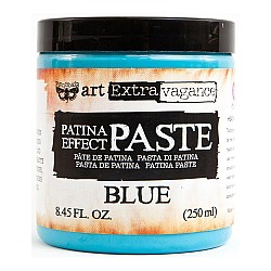Finnabair Art Extravagance Patina Effect Paste - Blue (8.45 oz)