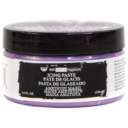 Prima Finnabair Art Extravagance Icing Paste 120ml Jar - Amethyst Magic