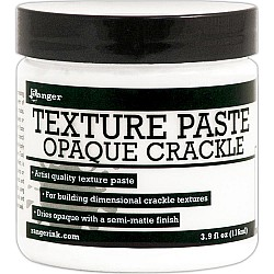 Ranger Texture Paste (Opaque Crackle) 4oz