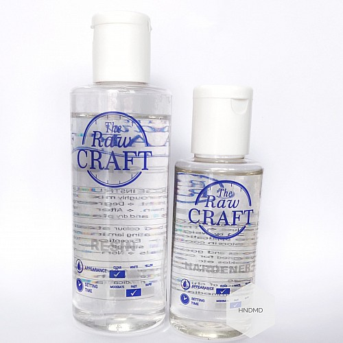 Resin Mixture by Raw Craft (150 ml)
