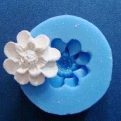 8 Petal Flower Silicon Clay Mold