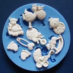 Baby Feets & Toys Silicon Clay Mold