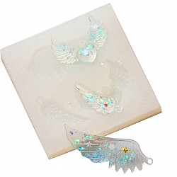 Small Wings Silicon Clay Mold