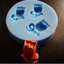 Tulip Silicon Clay Mold