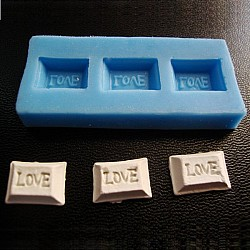 Love Candy Silicon Clay Mold