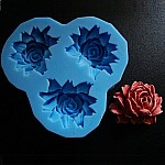 Large Rose Silicone Clay Mold
