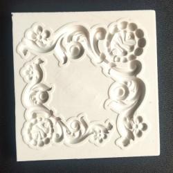 Flourishes Corners Silicon Clay Mold