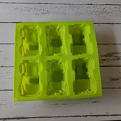 Jeep Silicone Soap Mold (6 Cavities)