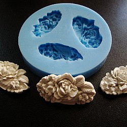 Oval Flower-1 Silicon Clay Mold