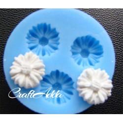 Small Daisy Silicon Clay Mold