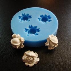 Pom Pom Rose Flower Silicon Clay Mold