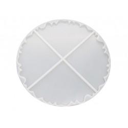Agate Coaster Silicon Clay Mold