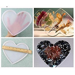 Large Heart SIlicone Mould / Mold