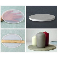 Large Oval SIlicone Mould / Mold